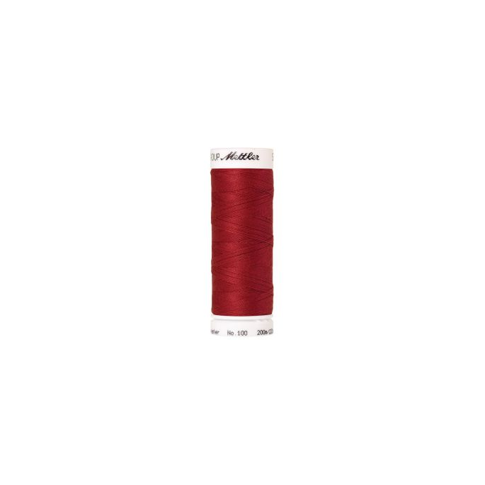 Mettler Polyester Sewing Thread (200m) Color 0504 Country Red
