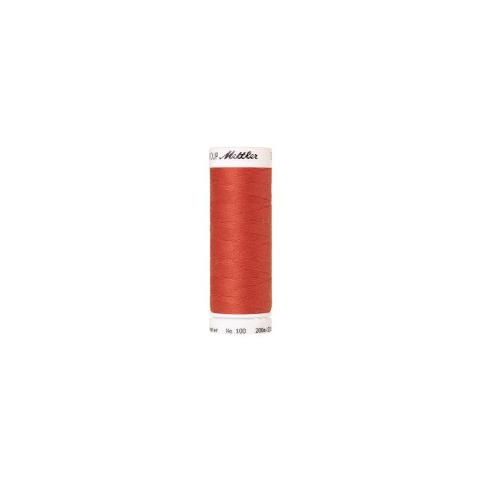 Mettler Polyester Sewing Thread (200m) Color 0507 Spanish Tile