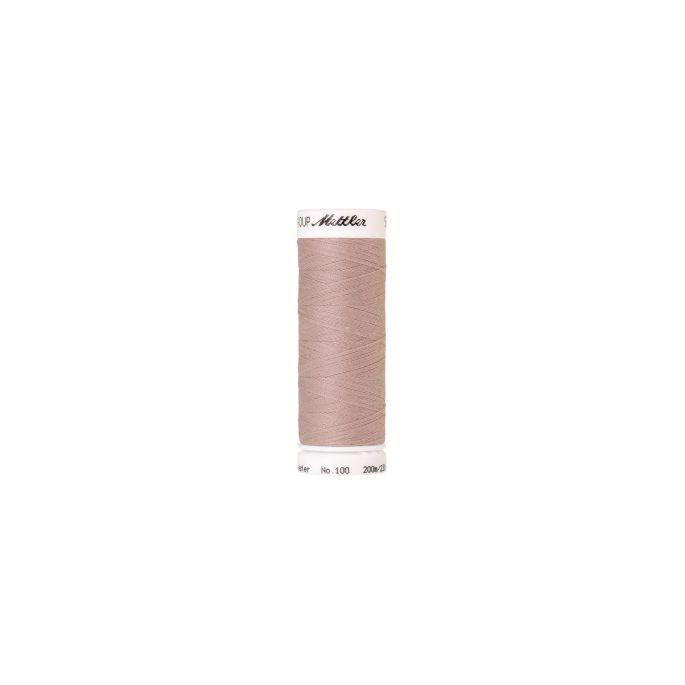 Fil polyester Mettler 200m Couleur n°0601 Rose Pâle