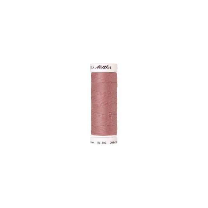 Mettler Polyester Sewing Thread (200m) Color 0637 Antique Pink