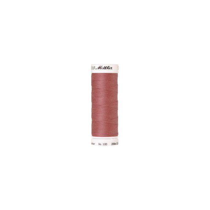Fil polyester Mettler 200m Couleur n°0638 Rouge Mars