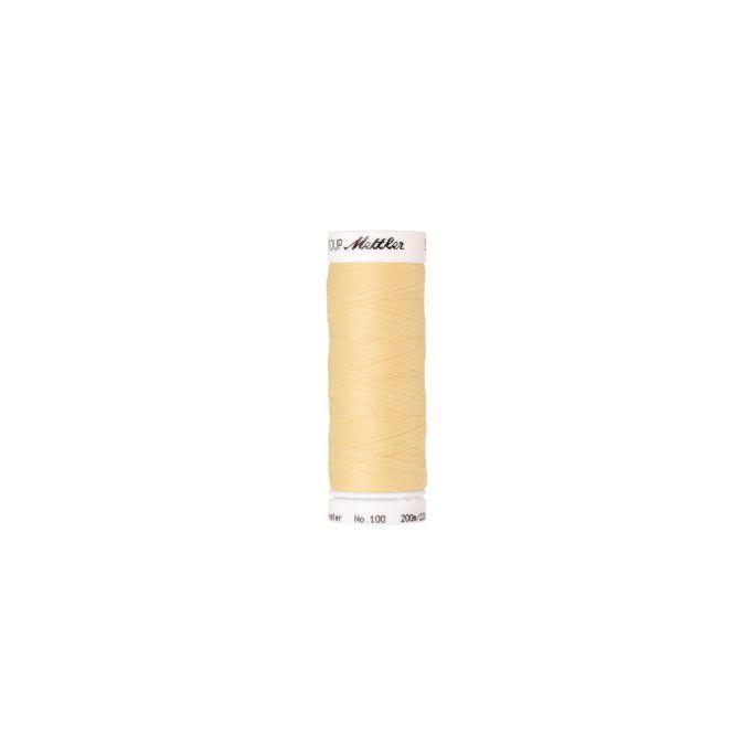 Fil polyester Mettler 200m Couleur n°0781 Soleil d'Hiver
