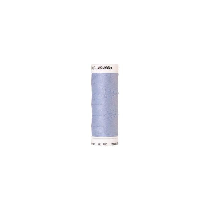 Fil polyester Mettler 200m Couleur n°0814 Bleu Bébé