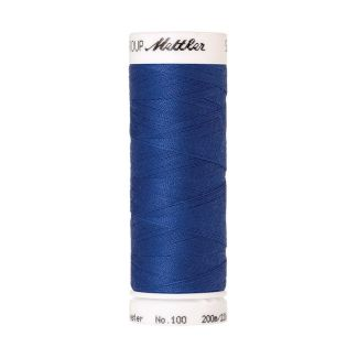 Mettler Polyester Sewing Thread (200m) Color #0815 Cobalt Blue