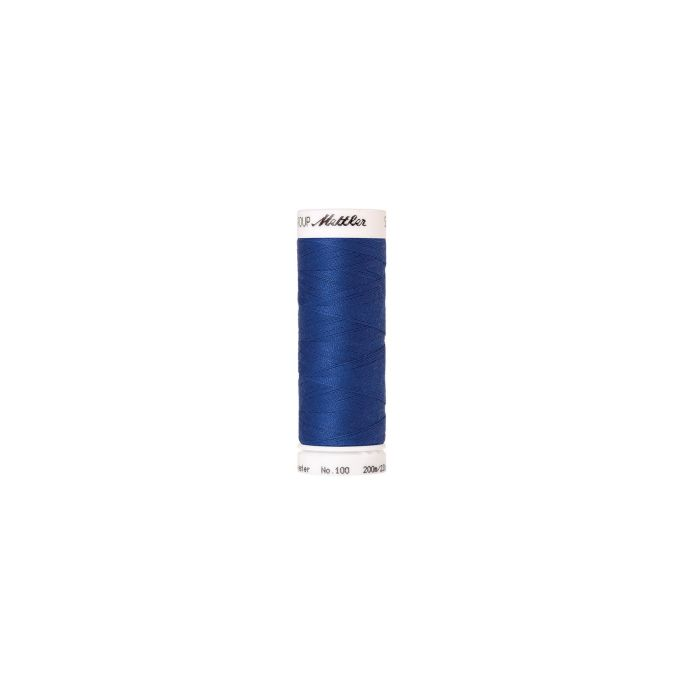 Mettler Polyester Sewing Thread (200m) Color 0815 Cobalt Blue