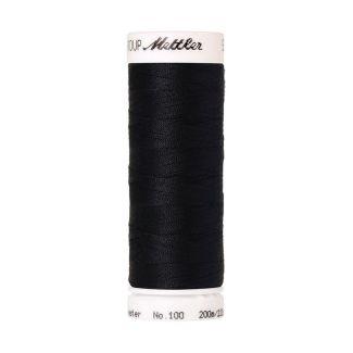 Fil polyester Mettler 200m Couleur n°0821 Bleu Profond