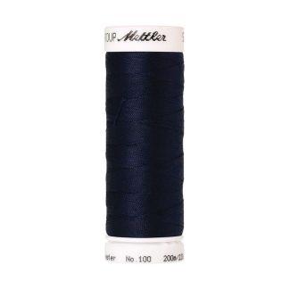 Fil polyester Mettler 200m Couleur n°0825 Navy