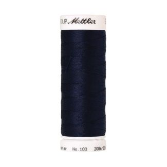 Mettler Polyester Sewing Thread (200m) Color #0825 Navy