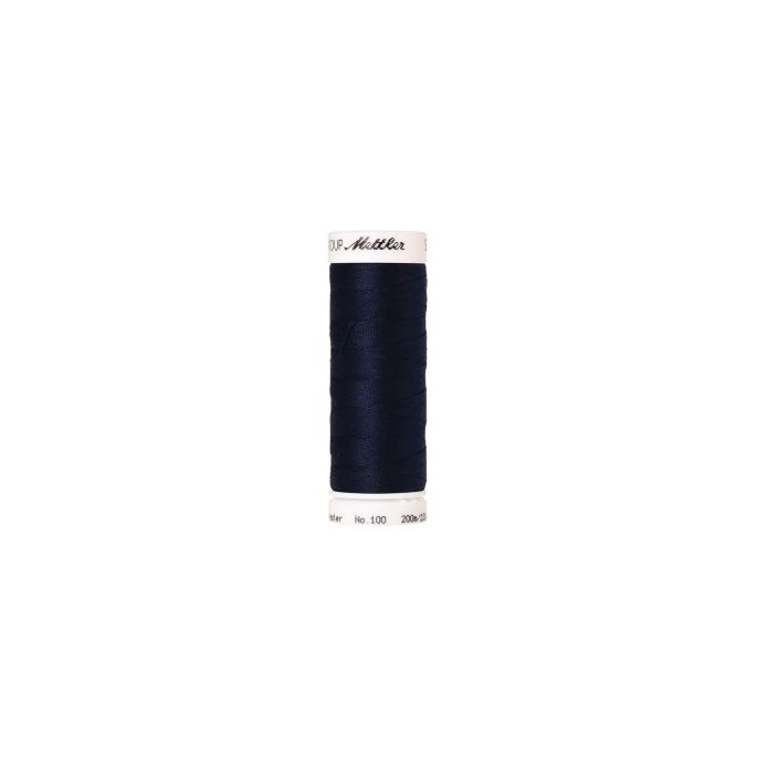 Mettler Polyester Sewing Thread (200m) Color 0825 Navy