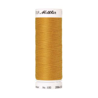 Mettler Polyester Sewing Thread (200m) Color #0892 Star Gold