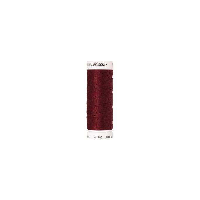 Mettler Polyester Sewing Thread (200m) Color 0918 Cranberry