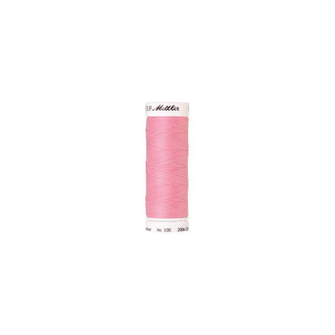 Fil polyester Mettler 200m Couleur n°1056 Rose pétal