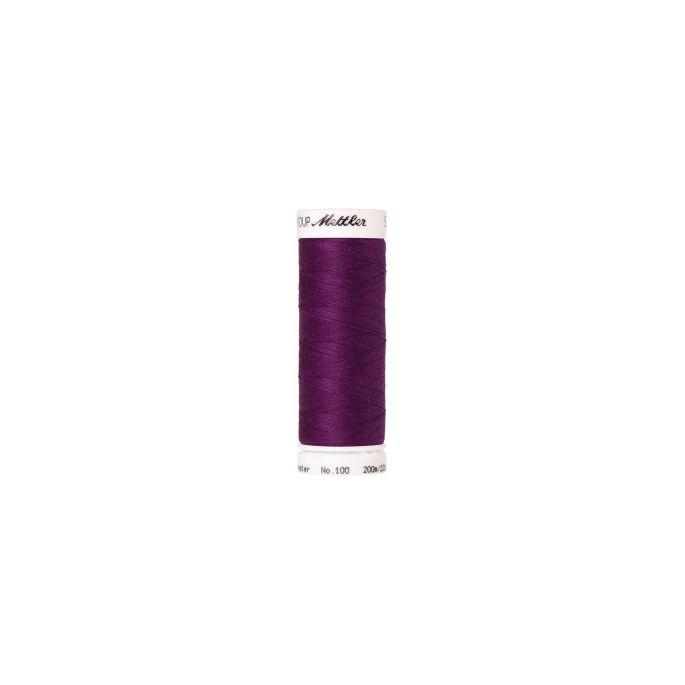 Fil polyester Mettler 200m Couleur n°1062 Violet Passion