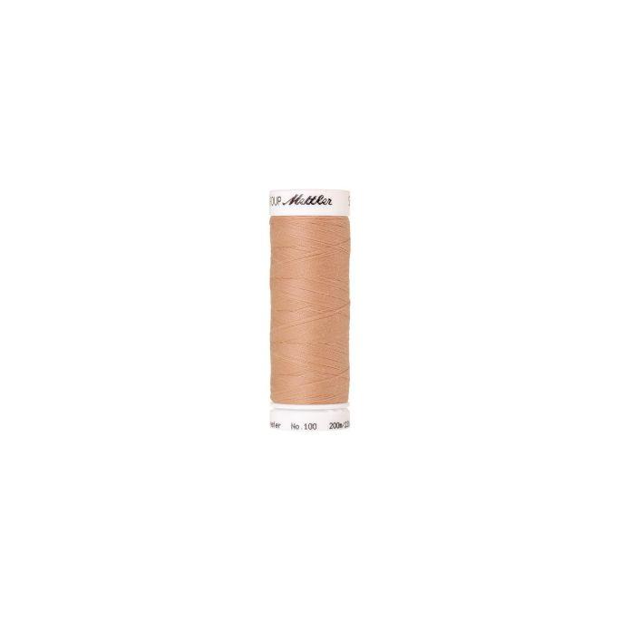Fil polyester Mettler 200m Couleur n°1168 Rose Crevette Clair