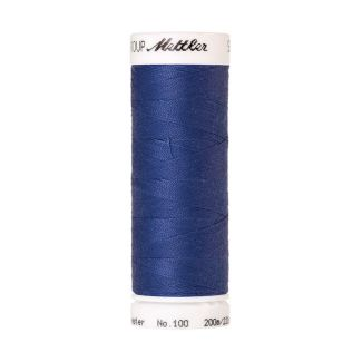 Mettler Polyester Sewing Thread (200m) Color #1301 Nordic Blue
