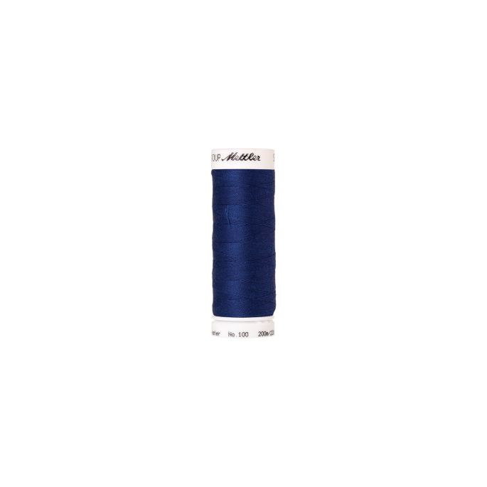 Fil polyester Mettler 200m Couleur n°1303 Bleu Roi