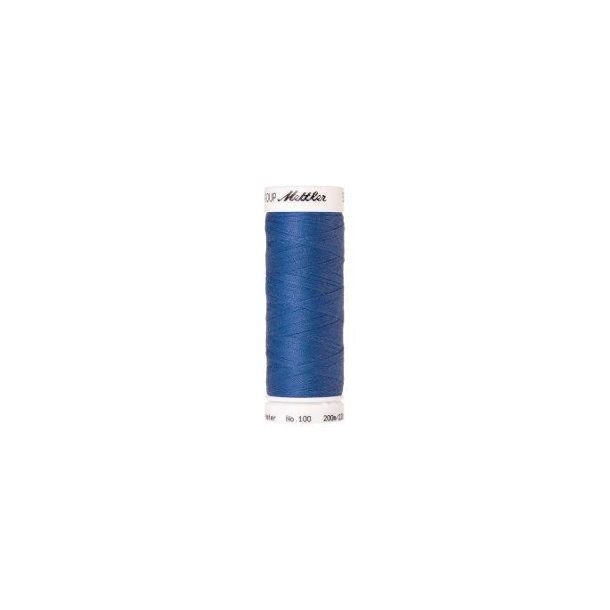 Fil polyester Mettler 200m Couleur n°1315 Bleu Marine