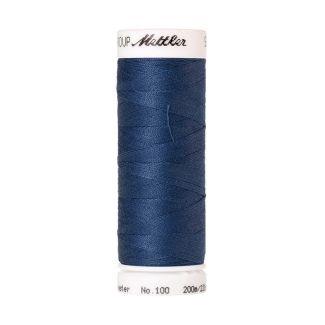 Fil polyester Mettler 200m Couleur n°1316 Bleu Acier