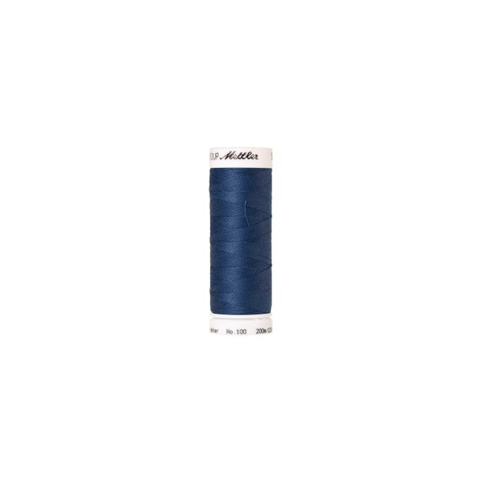 Mettler Polyester Sewing Thread (200m) Color 1316 Steel Blue