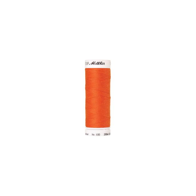 Mettler Polyester Sewing Thread (200m) Color 1335 Tangerine