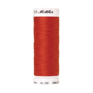 Fil polyester Mettler 200m Couleur n°1336 Rouge Vermillion
