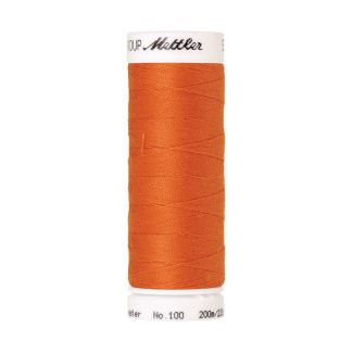 Fil polyester Mettler 200m Couleur n°1401 Orange Citrouille