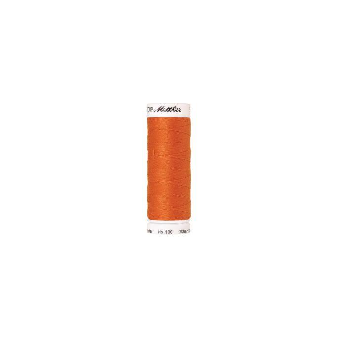 Fil polyester Mettler 200m Couleur n°1401 Orange Citrouille