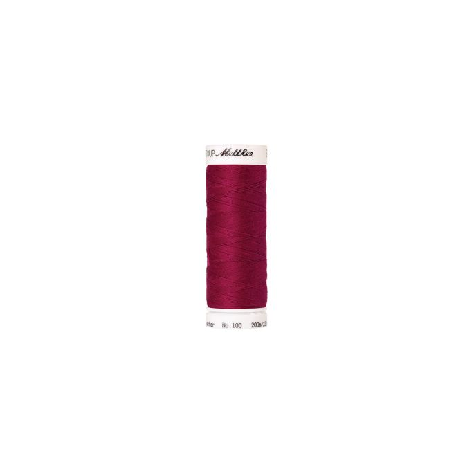 Fil polyester Mettler 200m Couleur n°1422 Rouge Rubis