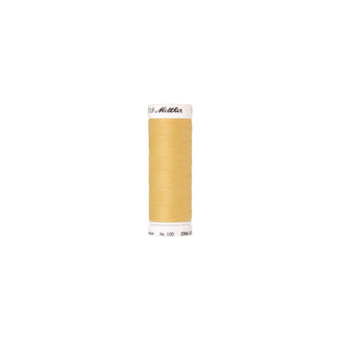 Mettler Polyester Sewing Thread (200m) Color 1454 Banana Peel