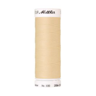 Fil polyester Mettler 200m Couleur n°1455 Crème
