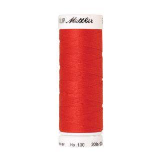 Fil polyester Mettler 200m Couleur n°1458 Pavot