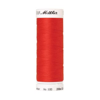 Mettler Polyester Sewing Thread (200m) Color #1458 Poppy