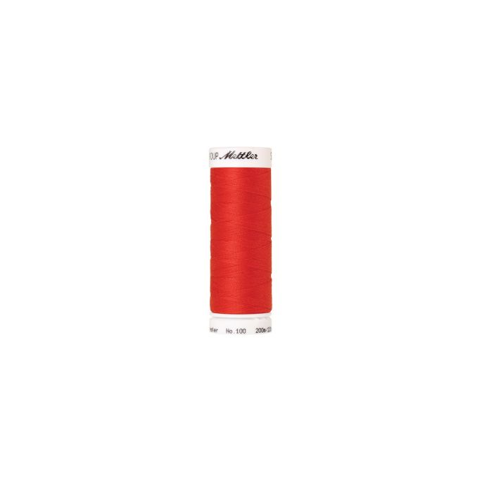 Mettler Polyester Sewing Thread (200m) Color 1458 Poppy