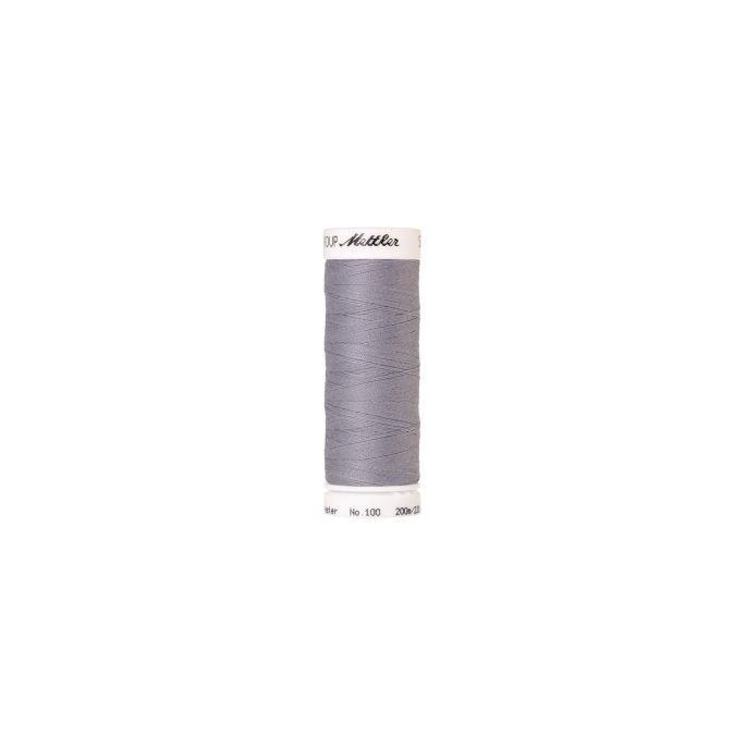Fil polyester Mettler 200m Couleur n°1462 Gris Clair