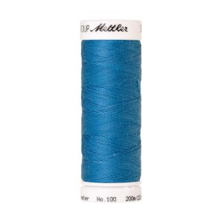 Mettler Polyester Sewing Thread (200m) Color #0022 Wave Blue