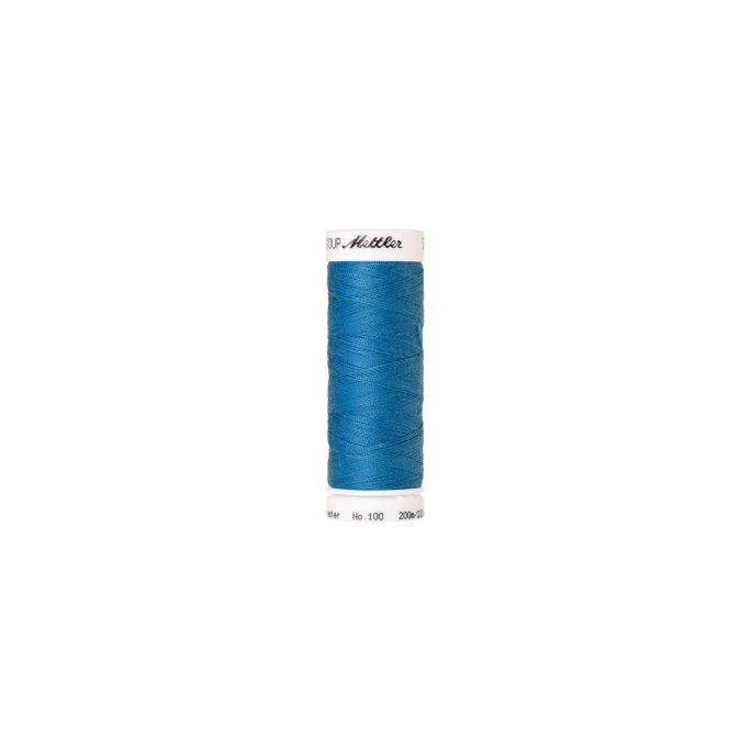Mettler Polyester Sewing Thread (200m) Color 0022 Wave Blue