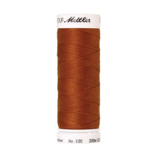 Mettler Polyester Sewing Thread (200m) Color #0163 Copper