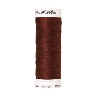 Mettler Polyester Sewing Thread (200m) Color #0196 Coffee Bean