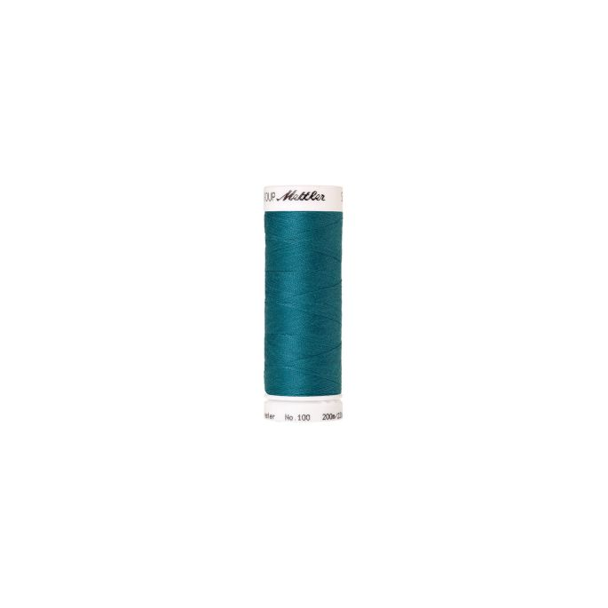 Mettler Polyester Sewing Thread (200m) Color 0232 Truly Teal