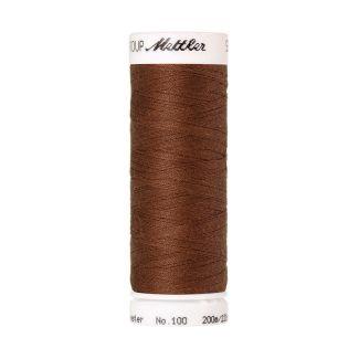 Fil polyester Mettler 200m Couleur n°0262 Brun Penny