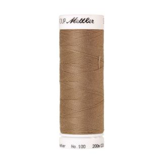 Mettler Polyester Sewing Thread (200m) Color #0267 Dark Rattan