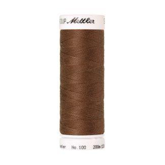 Fil polyester Mettler 200m Couleur n°0281 Noisette
