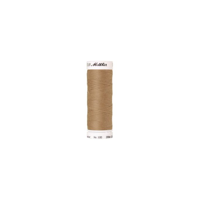 Mettler Polyester Sewing Thread (200m) Color 0285 Caramel Cream