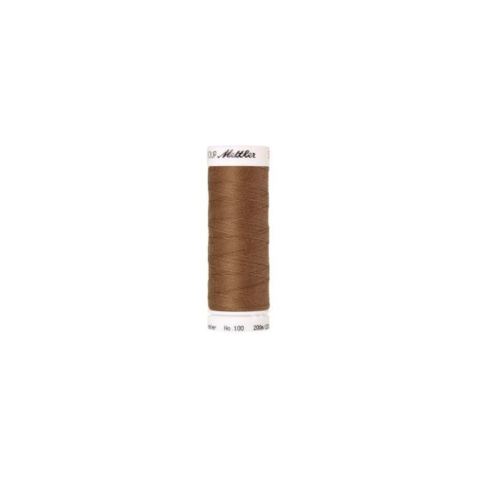 Mettler Polyester Sewing Thread (200m) Color 0287 Dark Tan