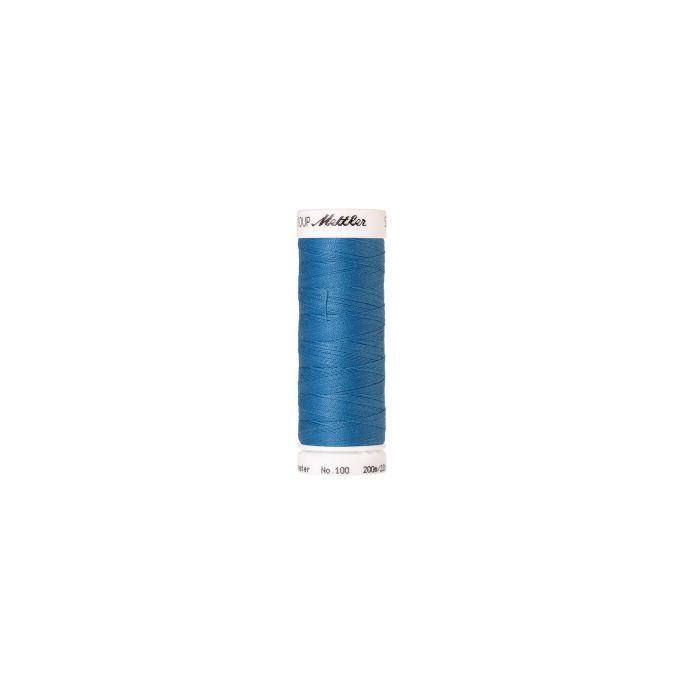 Mettler Polyester Sewing Thread (200m) Color 0338 Reef Blue