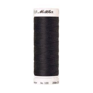 Fil polyester Mettler 200m Couleur n°0348 Gris Taupe