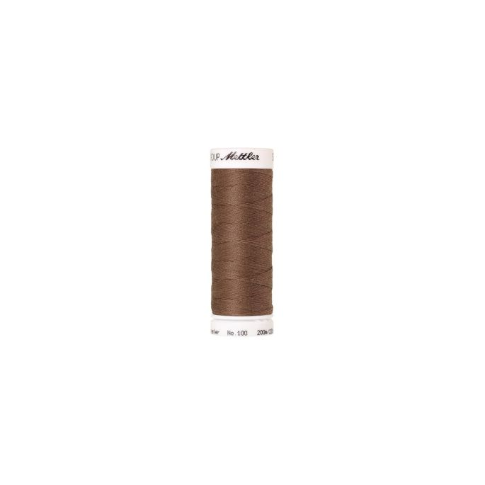 Mettler Polyester Sewing Thread (200m) Color 0387 Brown Mushroo