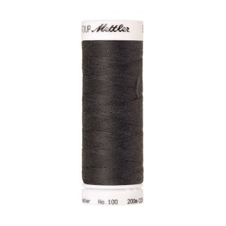 Mettler Polyester Sewing Thread (200m) Color #0416 Dark Charcoal