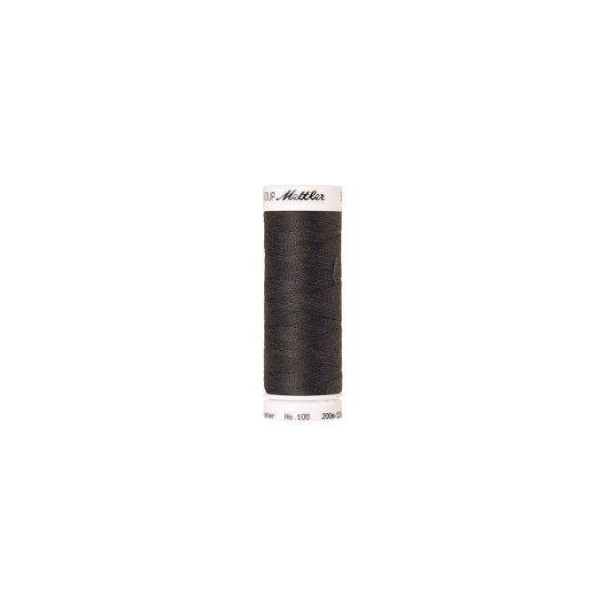 Fil polyester Mettler 200m Couleur n°0416 Charbon foncé