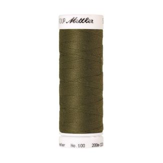 Mettler Polyester Sewing Thread (200m) Color #0420 Olive Drab